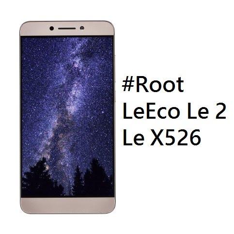 Root LeEco Le 2